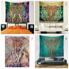 Indian Colorful Printed Mandala Beach Tapestry Bohemia Blanket(Color:2,Size:M)