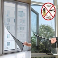 Insect Fly Bug Mosquito Door Mesh Screen Curtain Protector Window Net With Tape