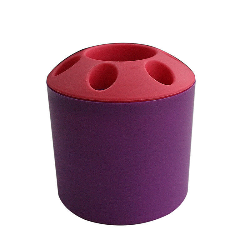 Jetting Buy Toothbrush and Toothpaste Holder - Purple - intl