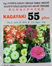 Kagayaki 55 Enhanced Flowering Fertilizer (Red) - 400 gram