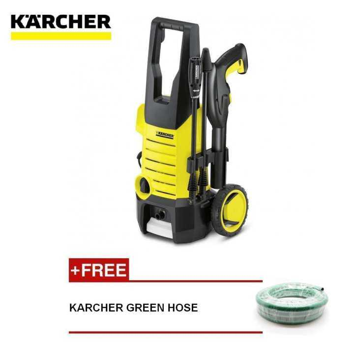 karcher high pressure cleaner 120 bar carbon motor free green hose lazada. Black Bedroom Furniture Sets. Home Design Ideas