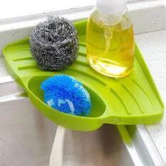 KCmall Home Living Dish Racks Sink Accessories Portable Kitchen Sink Corner  Storage Rack Sponge Holder Wall