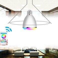 Hình ảnh KINCO E27 AC100-240V Smart LED Bulb Bluetooth Speaker APP Remote Control 4 Color Models 12 Bright Shades Timing Alarm Smart Bulb