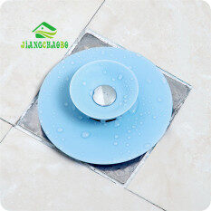 Kitchen Sinks Washing Pots Filter Floor Drain Cover Anti-Clogging Tumbling Bathroom Sewer Hair Filter-blue