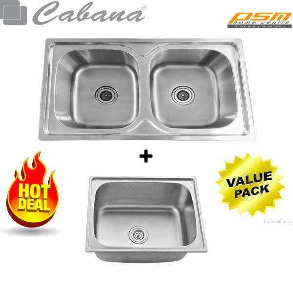 Kitchen Stainless Steel Sink Cks319 Double Bowl And Single