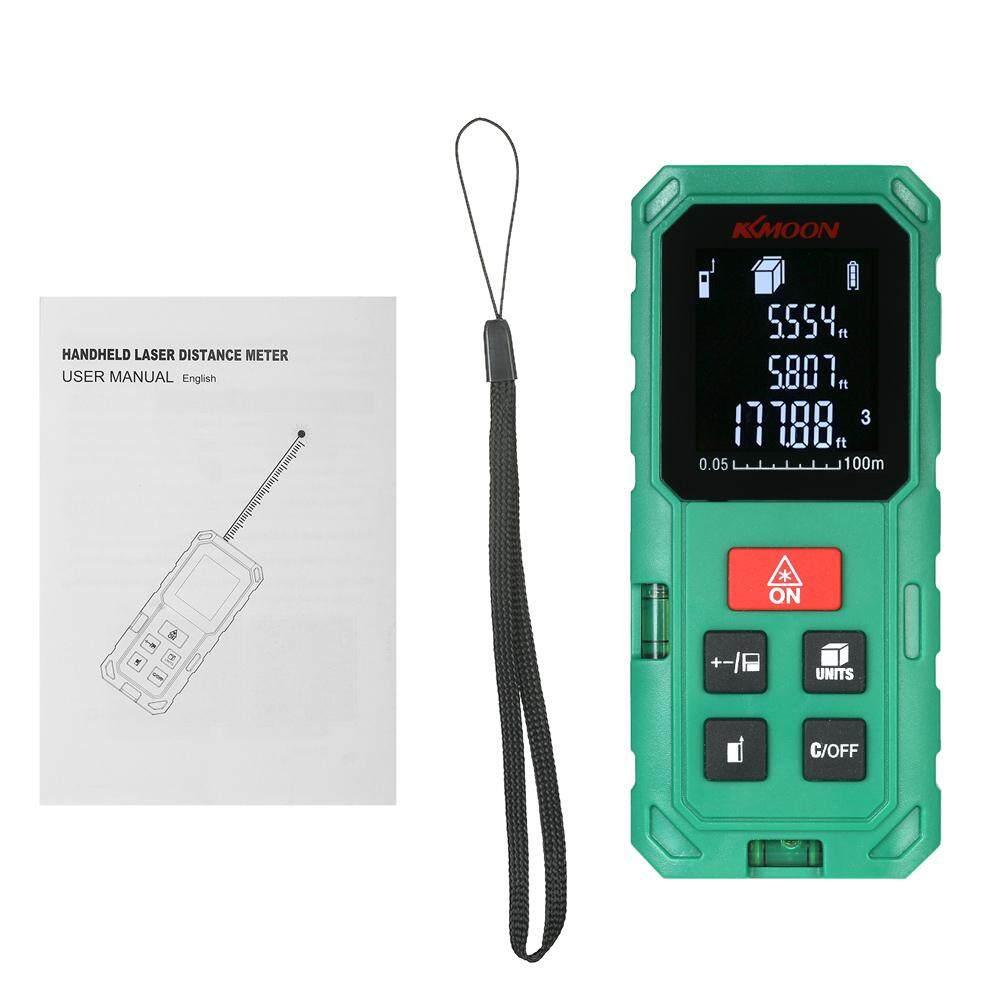 Kkmoon 100 M Digital Genggam Portabel Laser Jarak Ukuran Presisi Tinggi Pencari Jarak Panjang Volume Area
