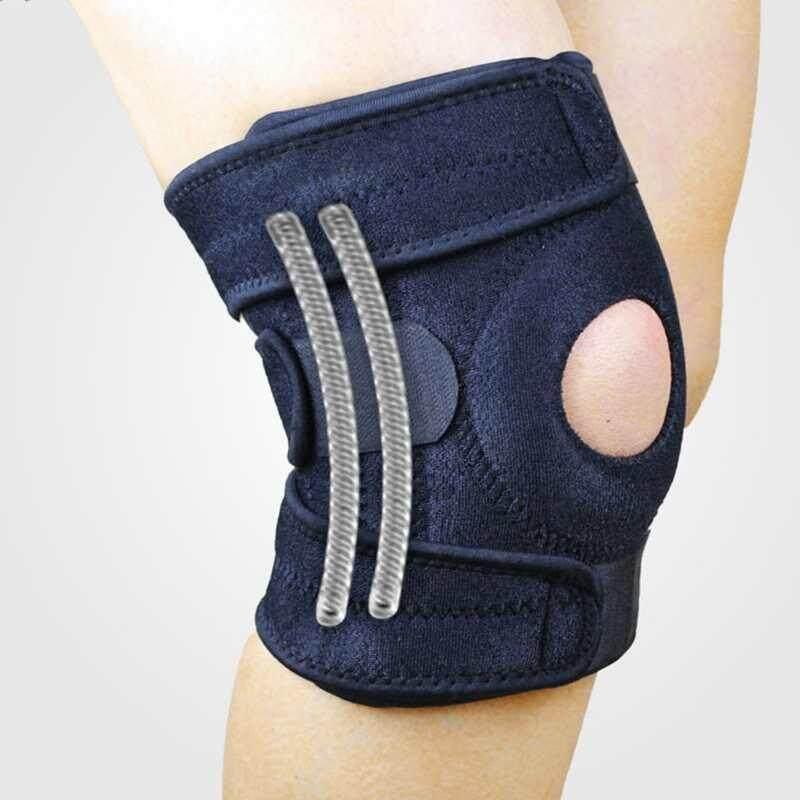Knee Pad Support Brace Sports Climbing Cycling Camping Safety Guard Brace Pads