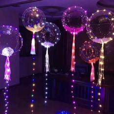 Kobwa LED Light Balloon Colorful Light Balloon LED Lights Light Ball Ball Wave Ball Night Market Shopping Mall Square Street Selling Balloon Birthday Party Decoration Wedding Layout