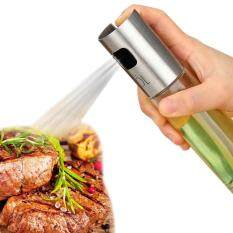 Olive Oil And Vinegar Soy Sauce Sprayers Pump Glass Bottle Set(1 Pcs) For Kitchen Cooking, Baking, Grillinsg By Aolvo.