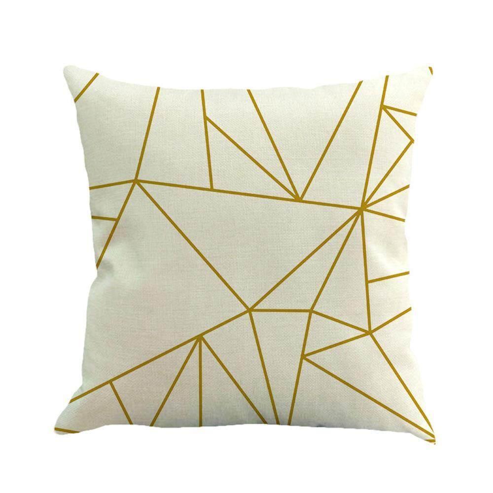 koklopo Square Sofa Pillow Covers, Pawaca Linen Throw Pillowcase Cover 18 X 18 Home Sofa Car Decorative Cushion Covers - intl
