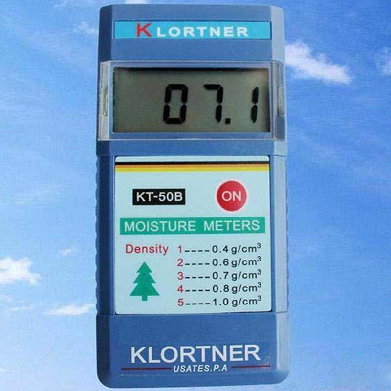 KT-50B 2~90% Induction Type Wood Moisture Tester Paper Tree Timber Humity Meter Blue