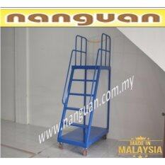 LADDER TROLLEY MOVABLE 5FT WITH WHEEL & BREAK