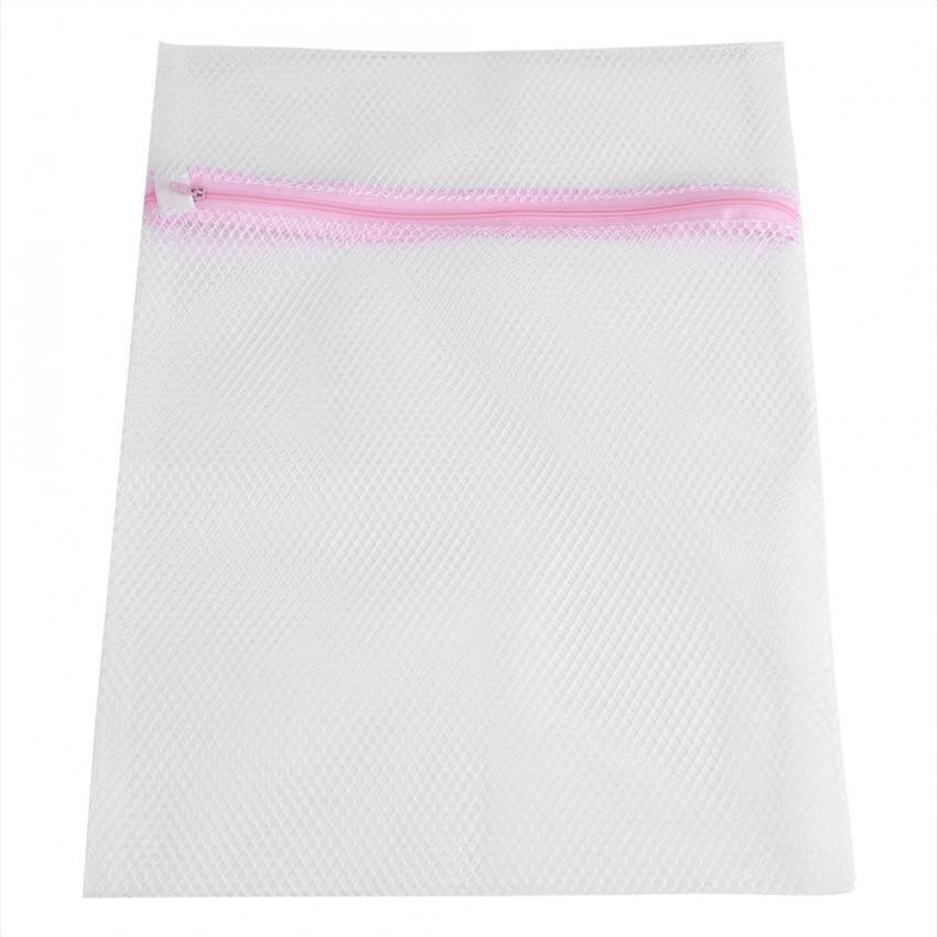 OAK Ukuran Besar Zipped Lingerie Cuci Bag Laundry Mesin Mesh Pakaian Socks Bra Underwear Bags (50 * 60cm) - intl