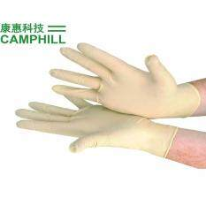 MEDICAL EXAMINATION LATEX POWDER FREE RUBBER DOUBLE CHLORINATION GLOVE SIZE: S (300 PCS)