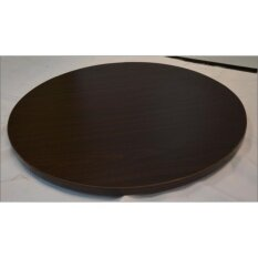 Lazy Susan - 75 Diameter Cm (wooden Walnut) By Office Furniture Afiah.