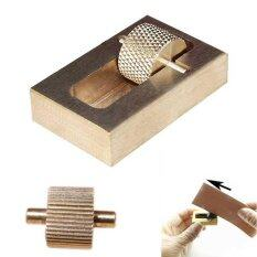 Mua Leather Craft Oil Painting Box + 2 Rollers Brass DIY Hand Tools Sets