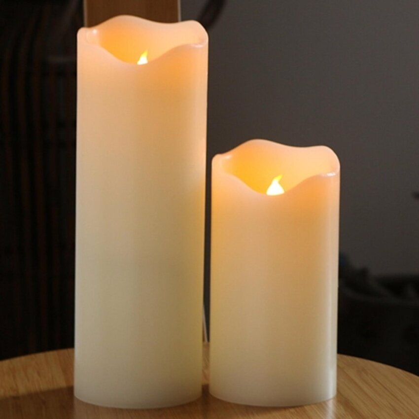 in Source · LED Candles Light Battery Operated Electric candle Wedding BirthdayParty Christmas .