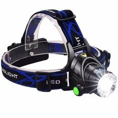LED Headlamp Osram 5w Waterproof High Bright Built-in Rechargeable Headlight + Charger 2 Modes Head Lamp