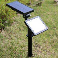 Solar Powered Pond Lights 3 Grb Lamps Underwater Waterproof 18 Leds Uv Outdoor Garden As Effectively As A Fairy Does Led Lamps Lights & Lighting