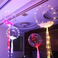 ... LAMPU TUMBLR BALON MURAH - 2 ... Source · LED Light Up Balloon, 18 Inch Clear Led BoBo Balloon With 3 M Colorful String