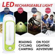 LED Rechargeable Flashlight Lamp Emergency Hook Camp Adventure