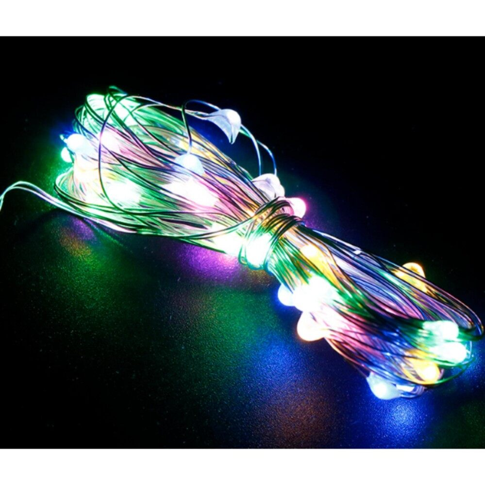 Fairy Lights For Sale Led Light Prices Brands Review In Dark Activated Or Lamp Flasher String Xmas Garland Party Wedding Decor Colorful Intl