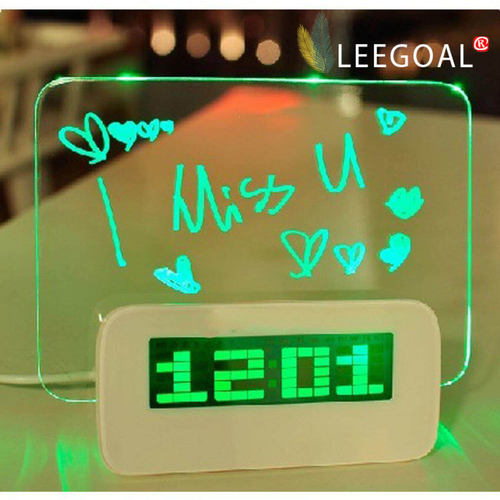 Home Clocks Buy At Best Price In Malaysia Lazada Desktop Bluetooth Speaker Alarm Clock Jam Meja Global Express Delivered Within 3 Days Free Shippingleegoal Led Message Board