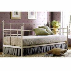 Lefenzi White Powder Coated Day Bed