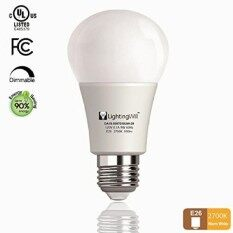 Lightingwill Led Light Bulb Ul-Listed Dimmable A19 Cri80+ Warm White 2700K 800Lm 9W Decorative