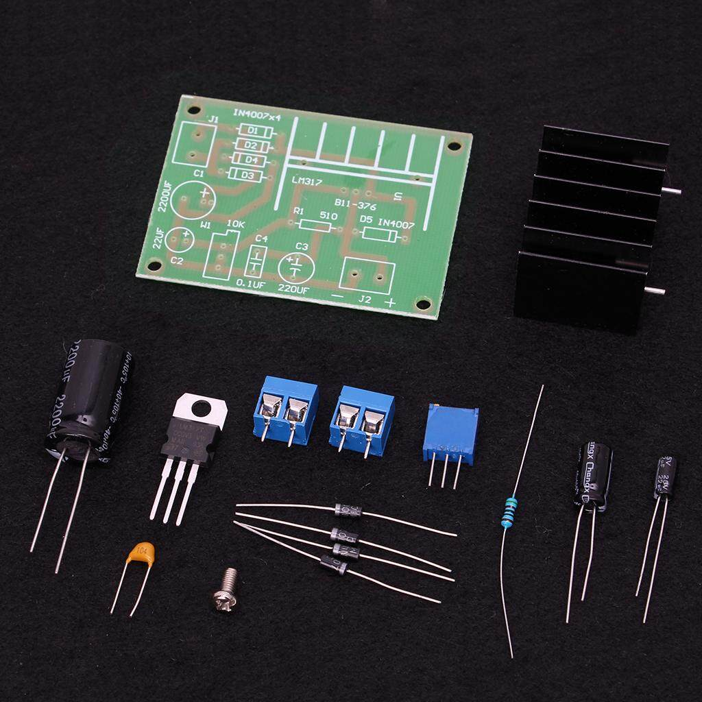 Buy Sell Cheapest Diy Lm317 Adjustable Best Quality Product Deals Based 0 To 3v Power Supply Board With Rectified Ac Dc Input Kit Intl