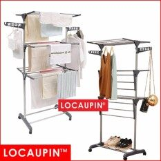 Locaupin 3layer Foldable Drying Rack Laundry Hanger 3 Tier Clothes Drying Racks By Locaupin Official Store.