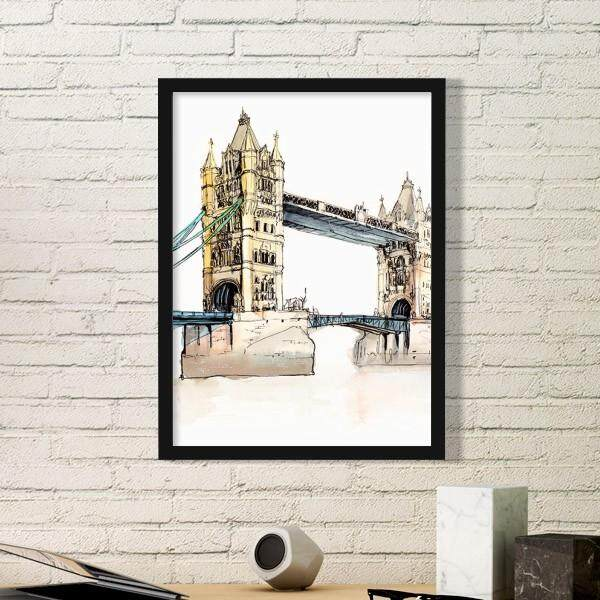 Jembatan London Di London Inggris Gambar Dekorasi Rumah Hadiah-Internasional