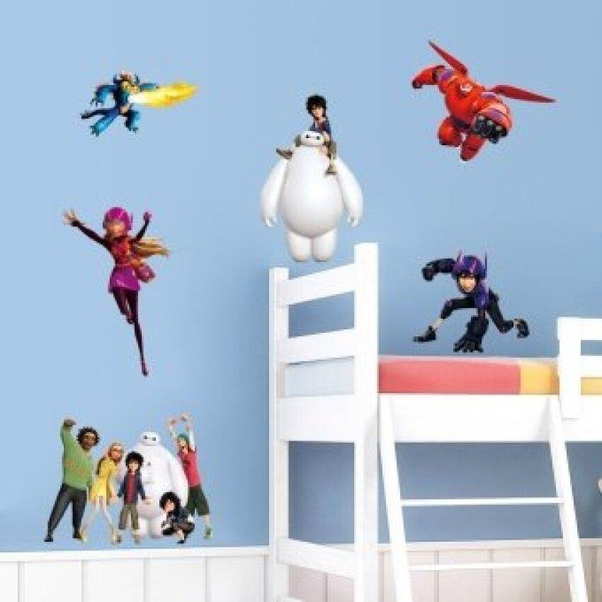 Rp 333.000. Lucu Fat Manusia Warna Putih Besar Hero 6 Aksi Tokoh Baymax Diyremovable Dinding Stiker Anak-anak ...