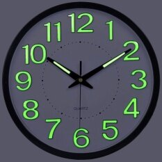 Mute Wall Clock Large Living Room Creative Quartz Wall Clock