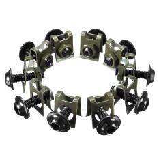 M6 6mm CNC Sportbike Fairing Body Bolt Kit Screw Spire Speed Fastener Clip Nut