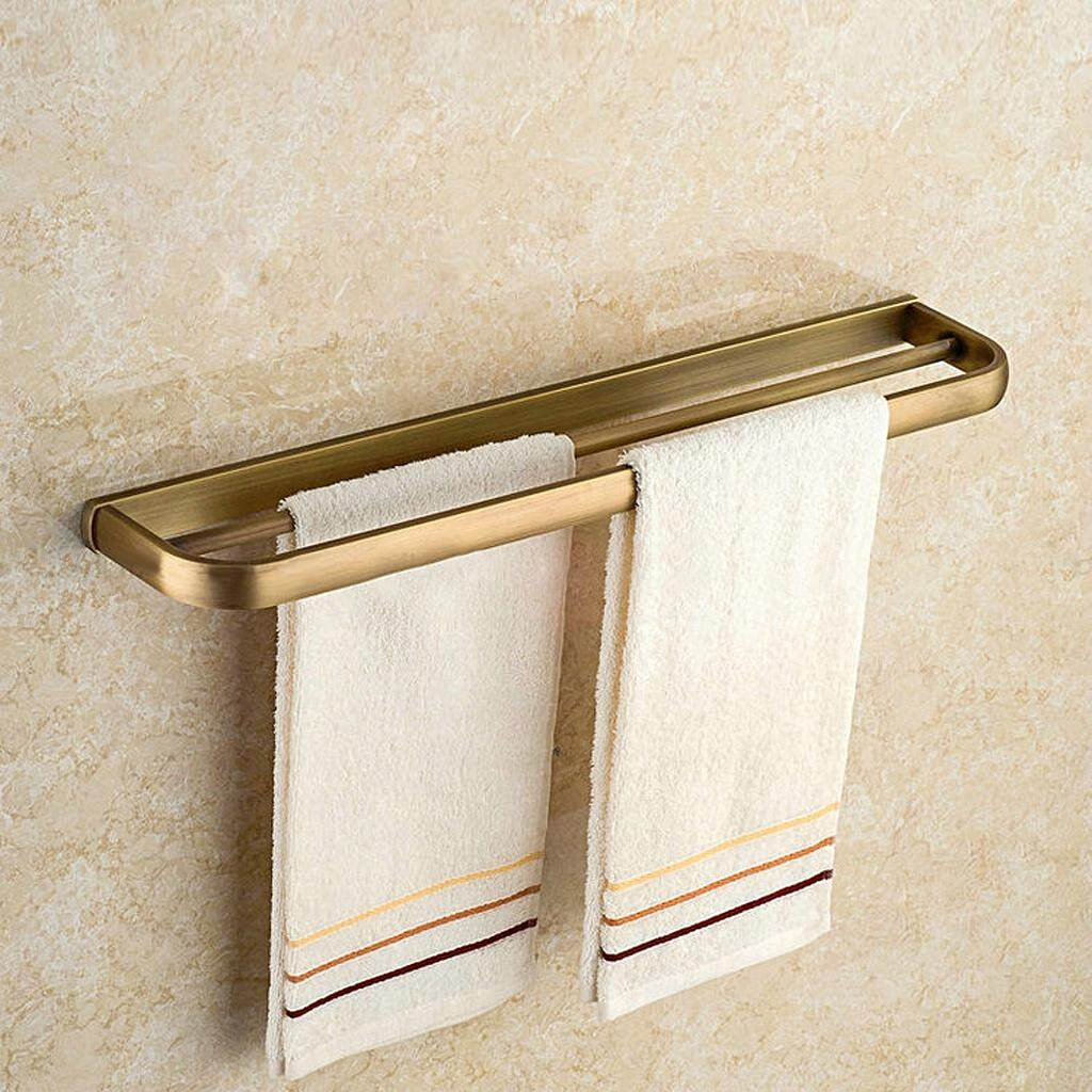 Review Magideal 570Mm Long Bathroom Kitchen Towel Rack Double Towel Bars Holder Antique Intl Magideal