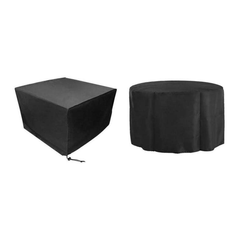 MagiDeal Outdoor Furniture Cover Waterproof Garden Furniture Protector Round Cube