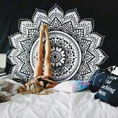 Mandala Tapestry Beach Throw Towel Wall Hanging Bohemian Yoga Mat( Size:1 ) By All About Home.