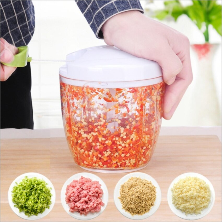 Manual Chopper Come With 5pcs Blade and Stirrer