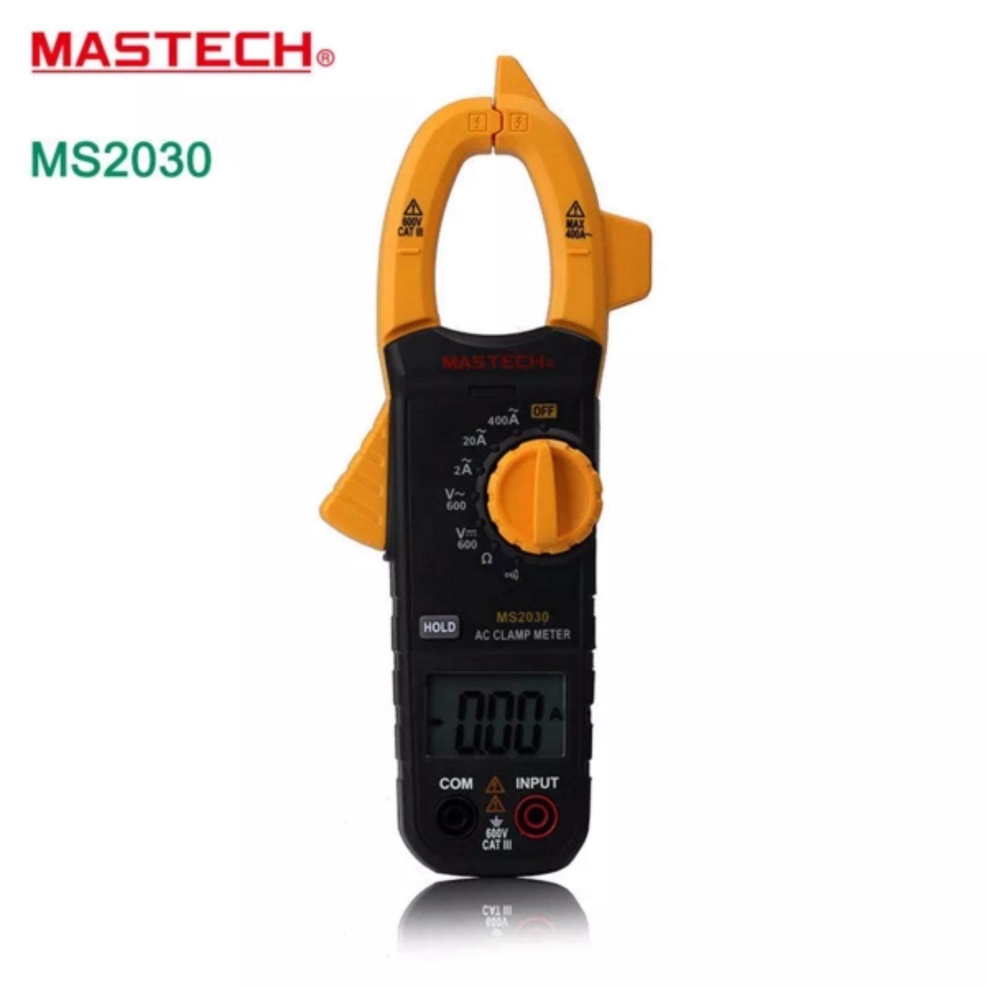 MASTECH Digital Clamp Meters multimeter AC DC Voltage Current 400A Resistance .