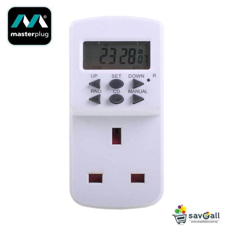 MasterPlug 24 Hours Plug In Programme Electric Timer (TES7-MP)