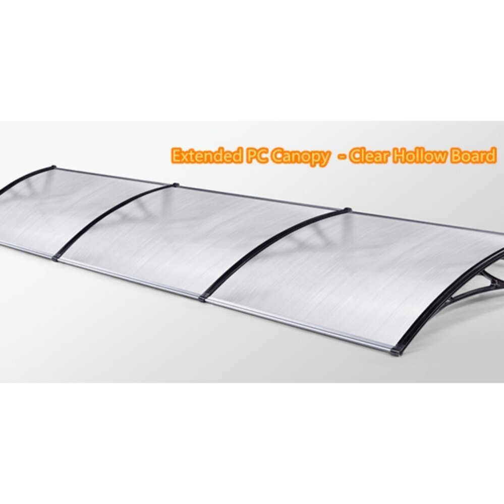 Merican Pca01 800X2400Mm Polycarbonate Awning (Clear)