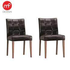 MF DESIGN DENMARK DINING CHAIR X 2 PCS