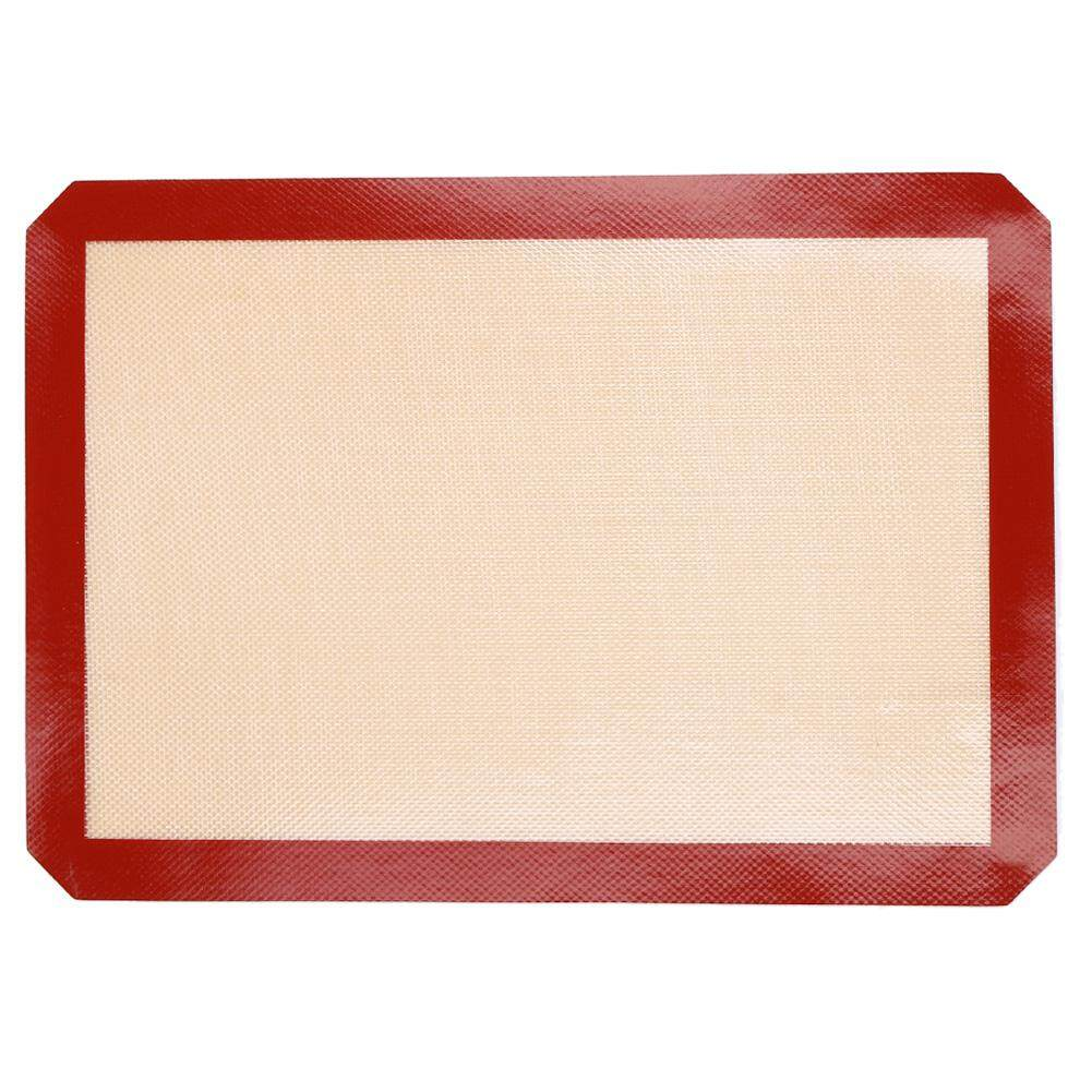 Microwave Baking Insulation Mat Non Slip Silicone Refrigerator Pad Placemat - intl