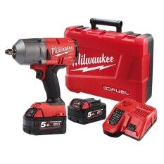 "MILWAUKEE M18 FUEL 1/2"" HIGH TORQUE IMPACT WRENCH (M18 FHIWF12-502C)"
