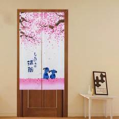 Mimosifolia Door Curtains Bedroom curtain Room Dividers curtain  85X150CM