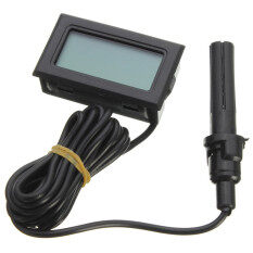 Mini Probe LCD Digital Thermometer Hygrometer Temperature Humidity Meter LCD Display -10Celsius to 50Celsius