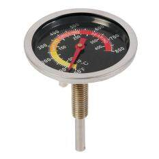 Mini Stainless Steel Thermometer Temperature Gauge for Outdoor BBQ Grill