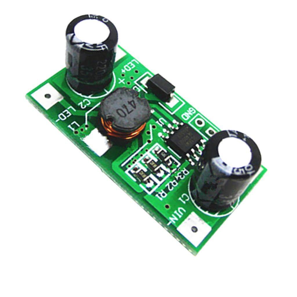 Miracle Shining Adjustable LED Driver 350mA PWM Light Dimmer DC-DC Step Down Module 5-35V 1W - intl Philippines