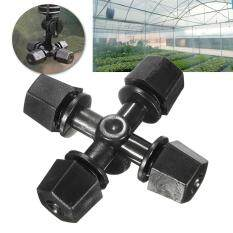 Misting Cross Sprinkler Nozzle Atomizing Humidifier for Greenhouse Garden Plants